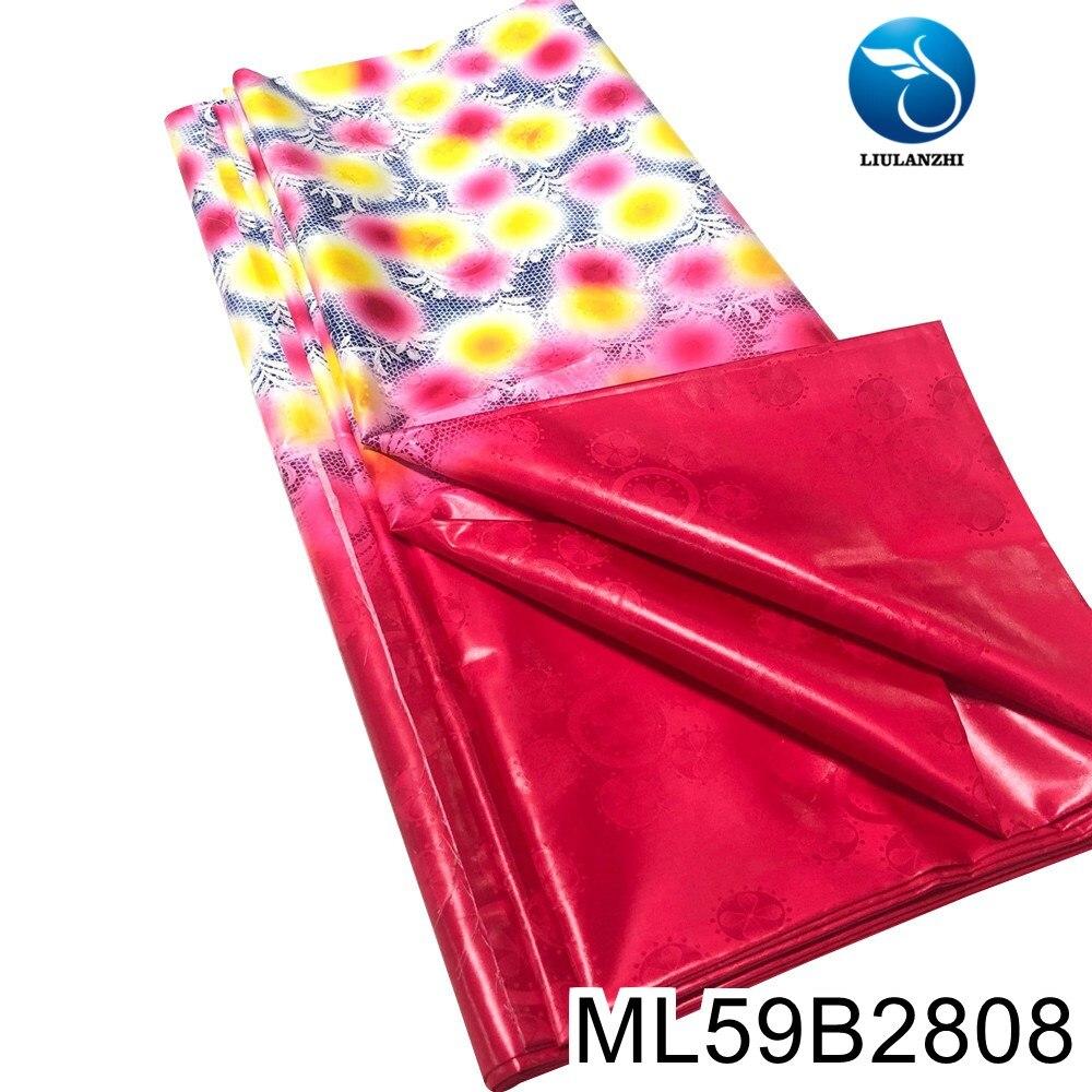 qualidade africano tingimento bazin riche tecido jacquard brocado novo ml59b28