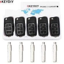 Пульт дистанционного управления B01 серии 5 шт./лот KEYDIY Оригинальный Универсальный KD900 B роскошный с 5 лезвиями ключа № 31 для VW