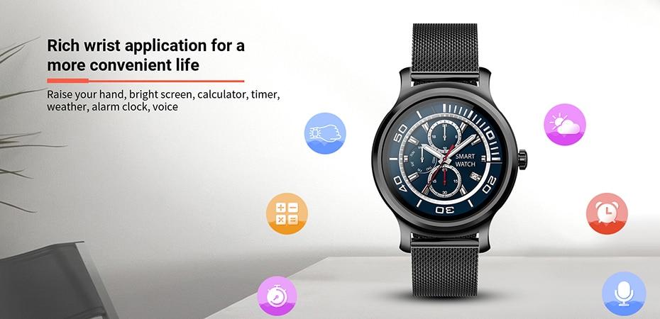1.28 touchable display bluetooth chamada monitor de