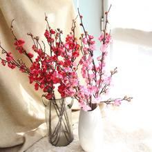 Flores artificiales de sakura simuladas, flores falsas, diseños de escenas de boda, decoración del hogar, accesorios de fotografía