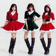 Winter Christmas Dresses Women Vintage Swing Pinup Elegant Party Dress Long Sleeve Casual Print Red Christmas Party Clothing long sleeve elk print christmas mini swing dress