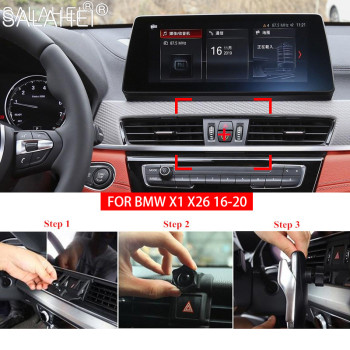 Hot Sale Gravity Car Phone Holder Air Vent Clip Mount Mobile Cell Stand Smartphone GPS Support For BMW X1 X2 16-20 Accessories image