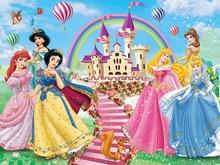 Disney платье для девочек; Платье принцессы Софии снег белый декоративное фоновое полотно украшение холст вечеринка по случаю Дня рождения, пр...