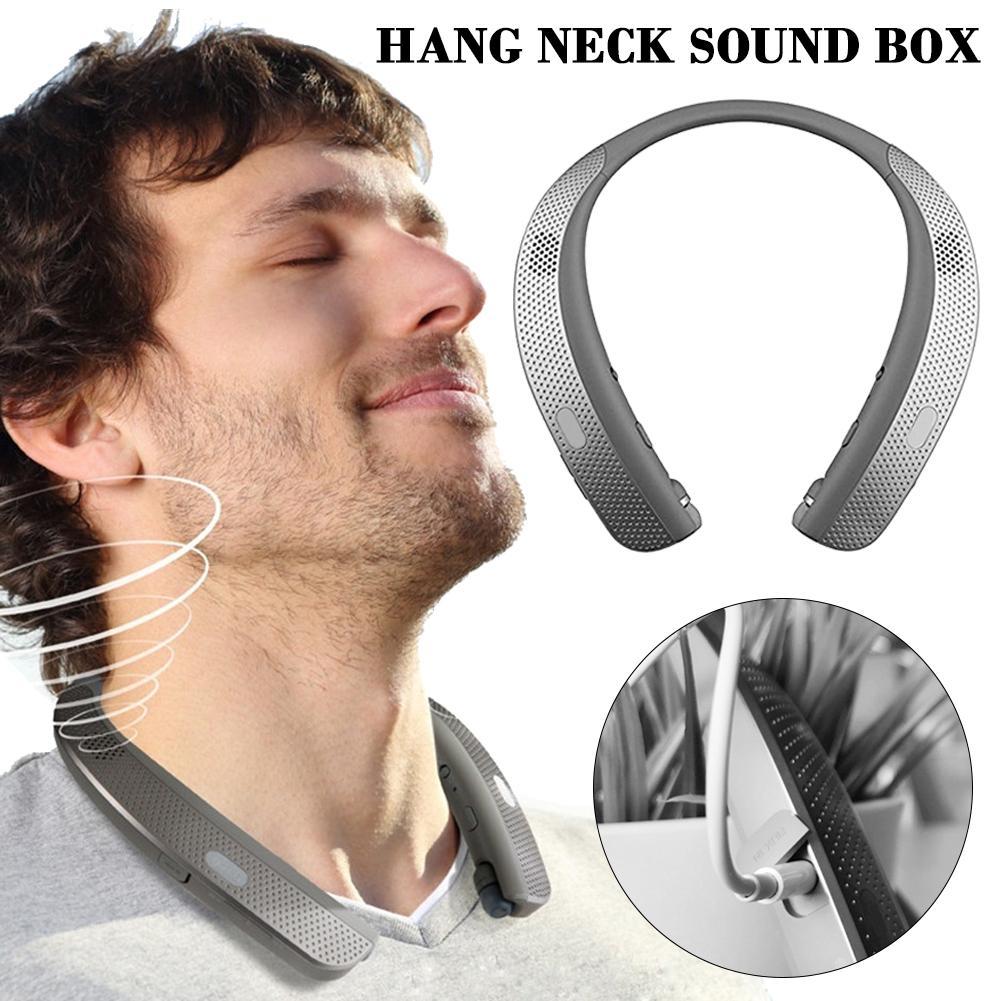 Bluetooth Headphones Lightweight Stereo Neckband Wireless Headset Earphone For Sports Exercise Neck Wear Stereo Sports Speaker