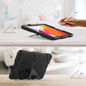 Image 2 - Чехол для iPad 10,2 2019 7 го поколения, водонепроницаемый, ударопрочный, грязеотталкивающий, снежный, песочный, экстремальный армейский, сверхмощный, с подставкой для iPad 10,2