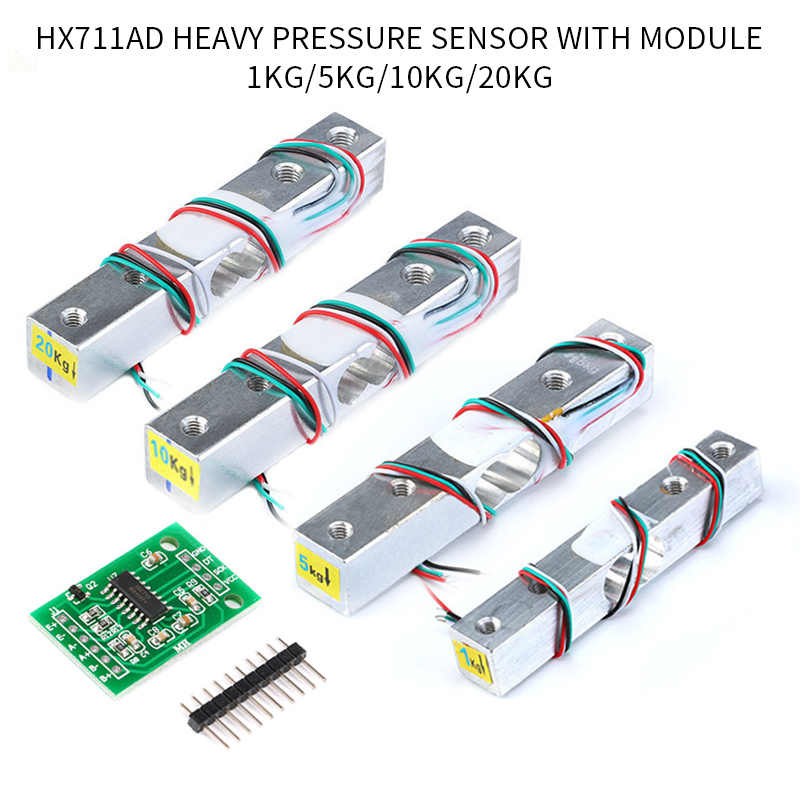 1 Set Small Weighing Molule Pressure Sensors Precision AD Module for Arduino