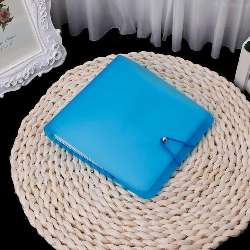 1Pc Portable 12 CD disque mallette de rangement support sac pour voiture maison bureau voyage