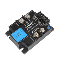 цена на china 220VAC 20mA 10V Single phase intelligent Adjust power voltage Module solid state relay