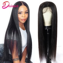 Brazilian Lace Front Wigs 13x4 Straight Hair Wigs Pre-Plucked 4x4 Lace Closure Human Hair Wigs Free Shipping Dainaer Hair