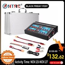 HTRC 4B6AC chargeur RC professionnel Quattro 80W 6A, chargeur de Balance, décharge pour multi chimie, batterie AC intégrée