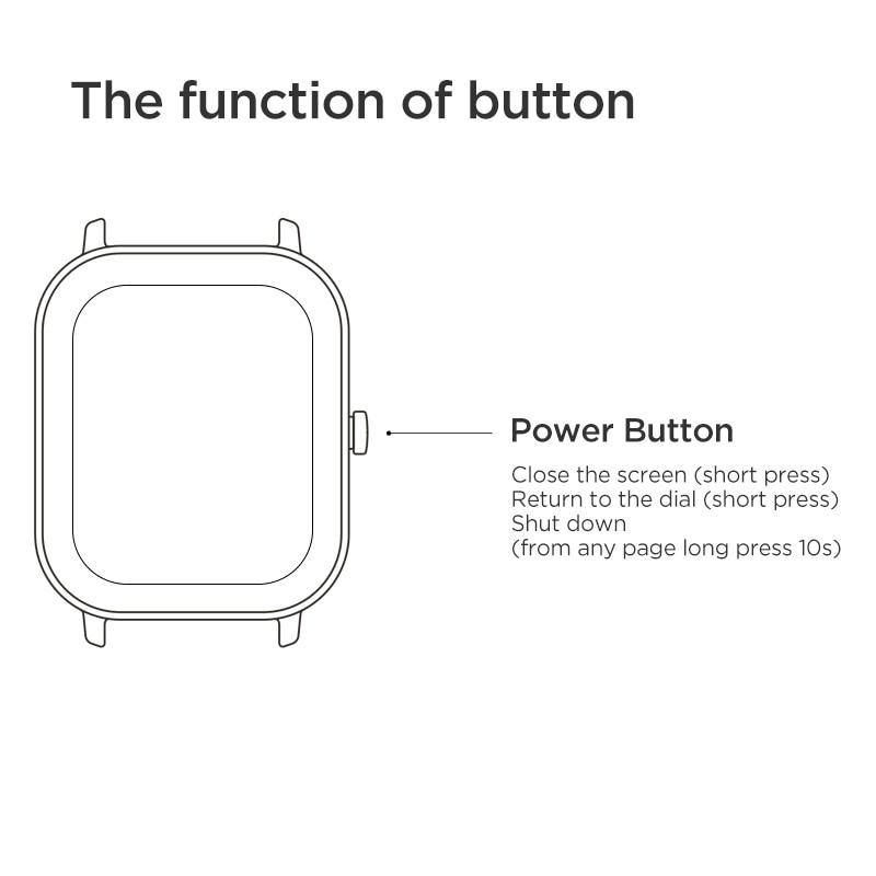 Versión Global nuevo reloj inteligente Amazfit GTS 5ATM impermeable natación Smartwatch 14 días batería Control de música para Xiaomi teléfono IOS - 6