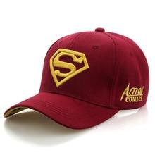 2020 DC Superman Cap Casual Outdoor Baseball Caps For Men Hats Women Snap-back Caps For Adults