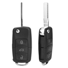 Key-Shell Tiguan Golf Touran Case-Cover Car-Key Jetta Remote 2-Buttons for VW B5 Replacement
