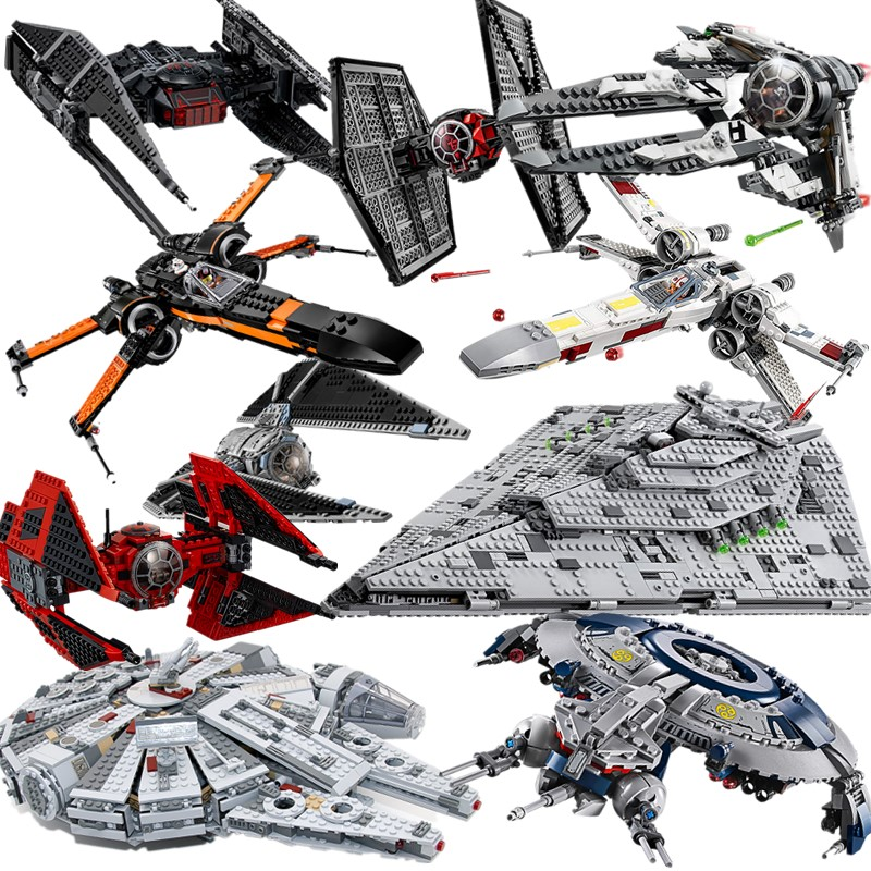 star-wars-tie-fighter-microfighters-building-blocks-set-lepins-space-font-b-starwars-b-font-bricks-toys-for-children-gifts