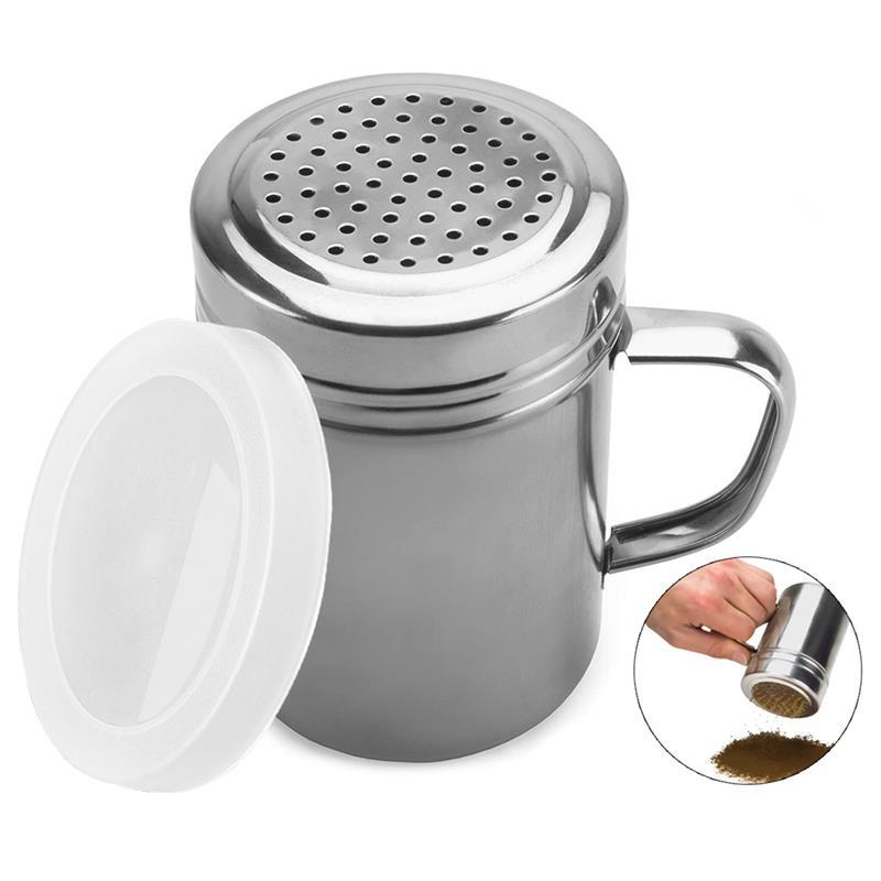 Gewürz Flasche Edelstahl Gewürz Shaker Spice Flasche mit Kunststoff Deckel-in Gewürz- & Pfefferstreuer aus Heim und Garten bei title=