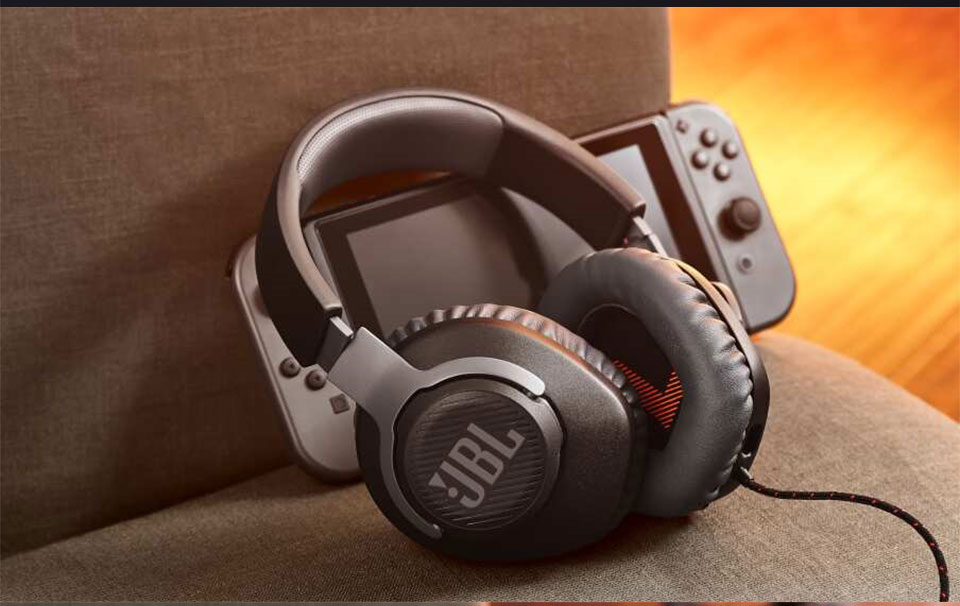 JBL Quantum 100 Wired Gaming Headset 8