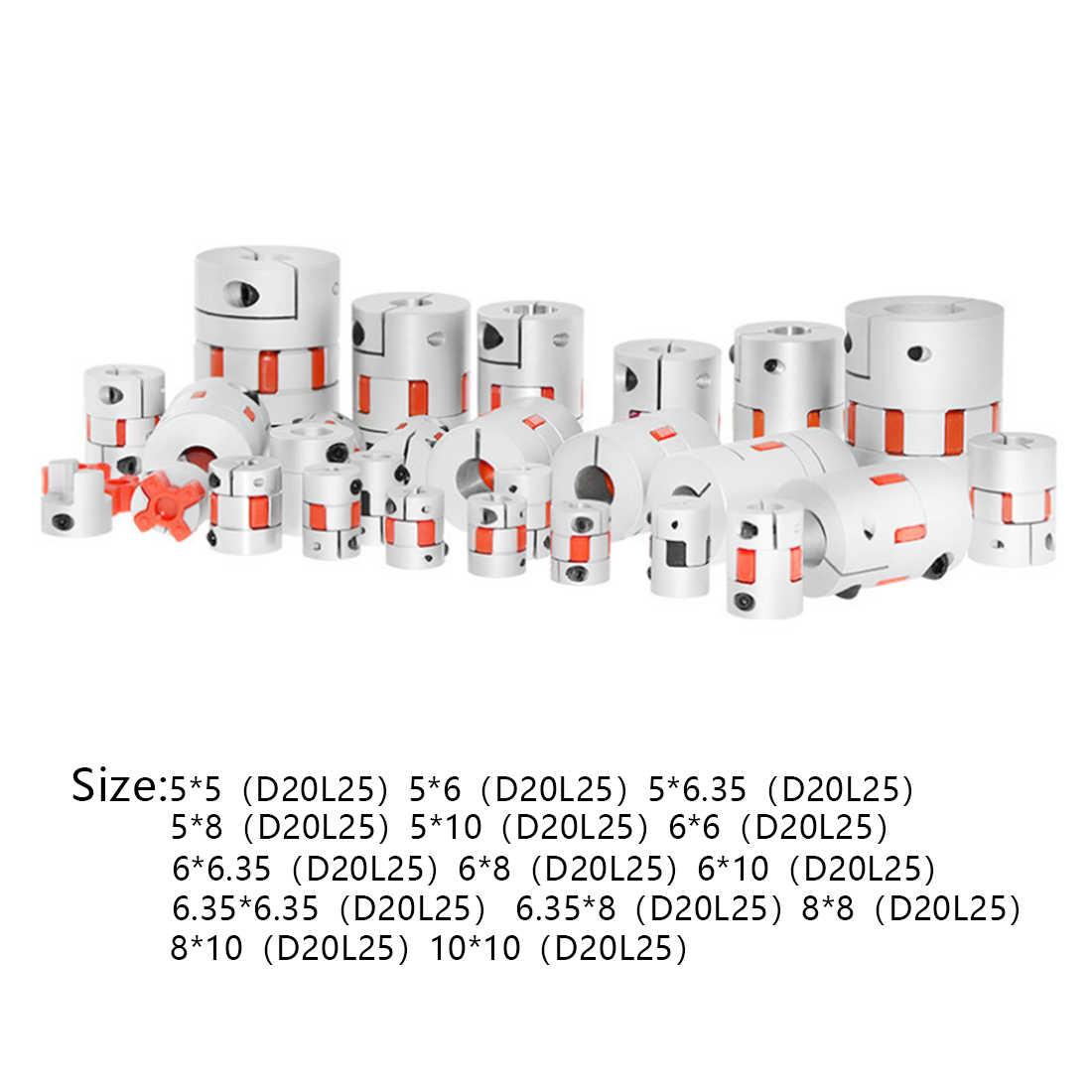 3D Printer Fleksibel Poros Skrup Upgrade Leadtime Coupler untuk CR10/CR10S/Ender 2/Ender3/Tornado/ anet A8
