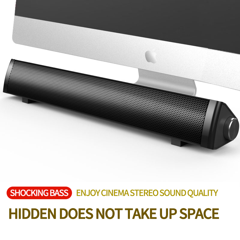 Bluetooth soundbar speakers computer wired and wireless Computer Speaker Subwoofer 3D Stereo Surround System for PC TV and phone