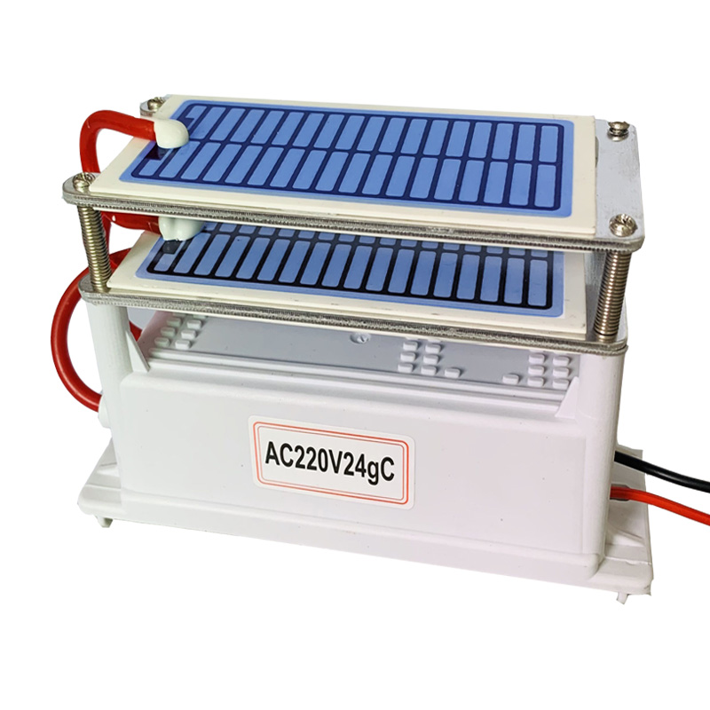 220Vor 110V 24g Ozone Generator Ozonio Gerador Long Life Ceramic Plate ozontor ozonizador air Water Cleaner Air Purifier