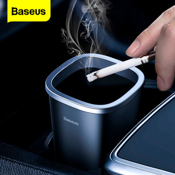 Baseus Car Trash Can Mini Garbage Can Auto Trash Bin Dustbin Rubbish Basket Organizer Trash Bin For Desktop Trash Accessories papelera kosz na smieci garbage de bag holder reciclaje commercial hotel lixeira cubo basura recycle bin dustbin trash can