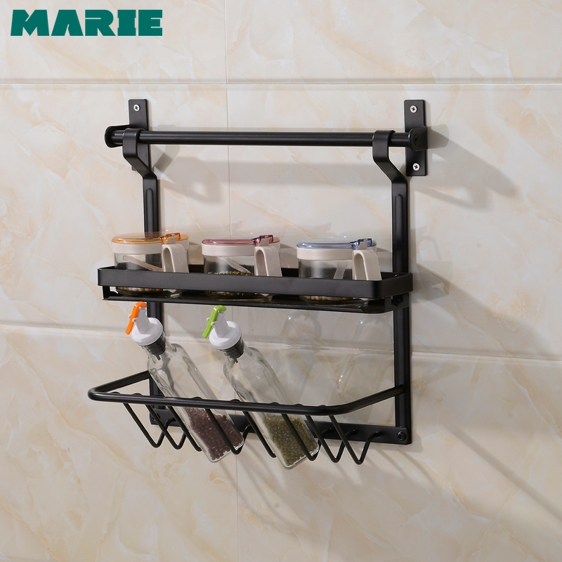 304 Stainless Steel Wall Mounted Kitchen Rack Organizer Tools Storage Frame Drain Bowl Basket Dish Hanging Shelf Basket