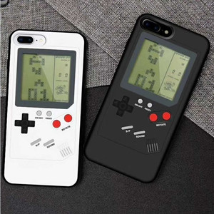 Gameboy Gaming Case For iPhone 11 Pro Max 7 8 6 Plus XS Max XR X Case Retro Tetris Phone Cases for Apple Obudowy Na Telefon Etui(China)