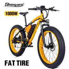 Электрический велосипед ebike 48V1000W, Электрический горный велосипед 4,0, электрический велосипед с толстыми шинами, пляжный электровелосипед, электрический мотоцикл