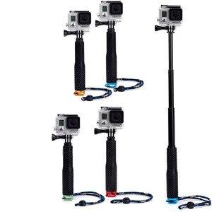 Image 5 - ללכת פרו 7 פאלו Selfie מקל חצובה לgopro גיבור 8 7 6 5 Dji פאו דה Selfie חדרגל עבור sjcam Xiaomi יי Eken H9 Selfi אבזרים