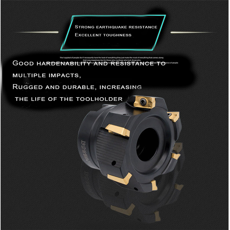 Image 3 - Milling cutter 90 degree right angle milling cutter BAP400R BAP300R 50 22 4T 63 22 4T 50 22 5T 63 22 6T 80 27 6T 4T 5T 6T 7T 8TMilling Cutter   -