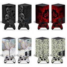 Decal-Cover Skin-Sticker Xbox-Series Vinyl 2-Controllers for And