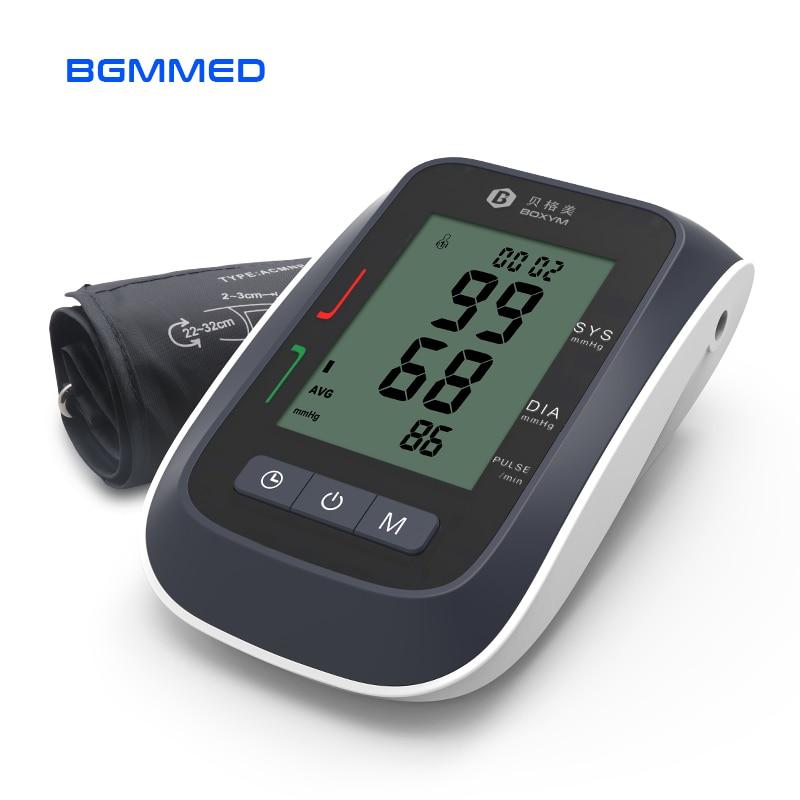 Automatic Upper Arm Blood Pressure Monitor  Digital LCD Sphygmomanometer Upper Cufffor Tonometer Pulsometer Health Care