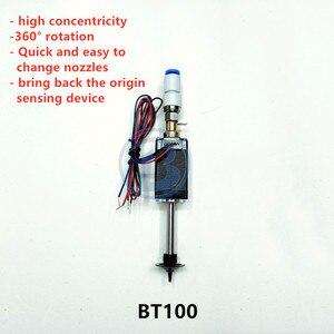 Image 2 - BT100 SMT kafa Nema8 içi boş mil step pick yeri kafa SMT DIY mountor 5mm özel bağlantı memesi döner ortak
