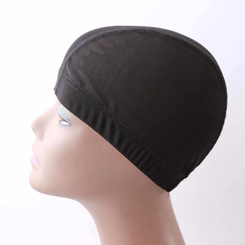 1pc Glueless Hairnets Wig Liner Cheap Wig Caps For Making Wigs Spandex Net Elastic Dome Wig Cap