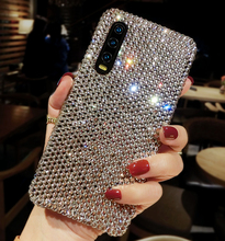 For Samsung Galaxy A51 A71 A10 A10E A20 A20S A20E A30 A40 A50 A70 A01 M10 M20 M30 M11 A21 A31 A41 Full Diamond Rhinestone case