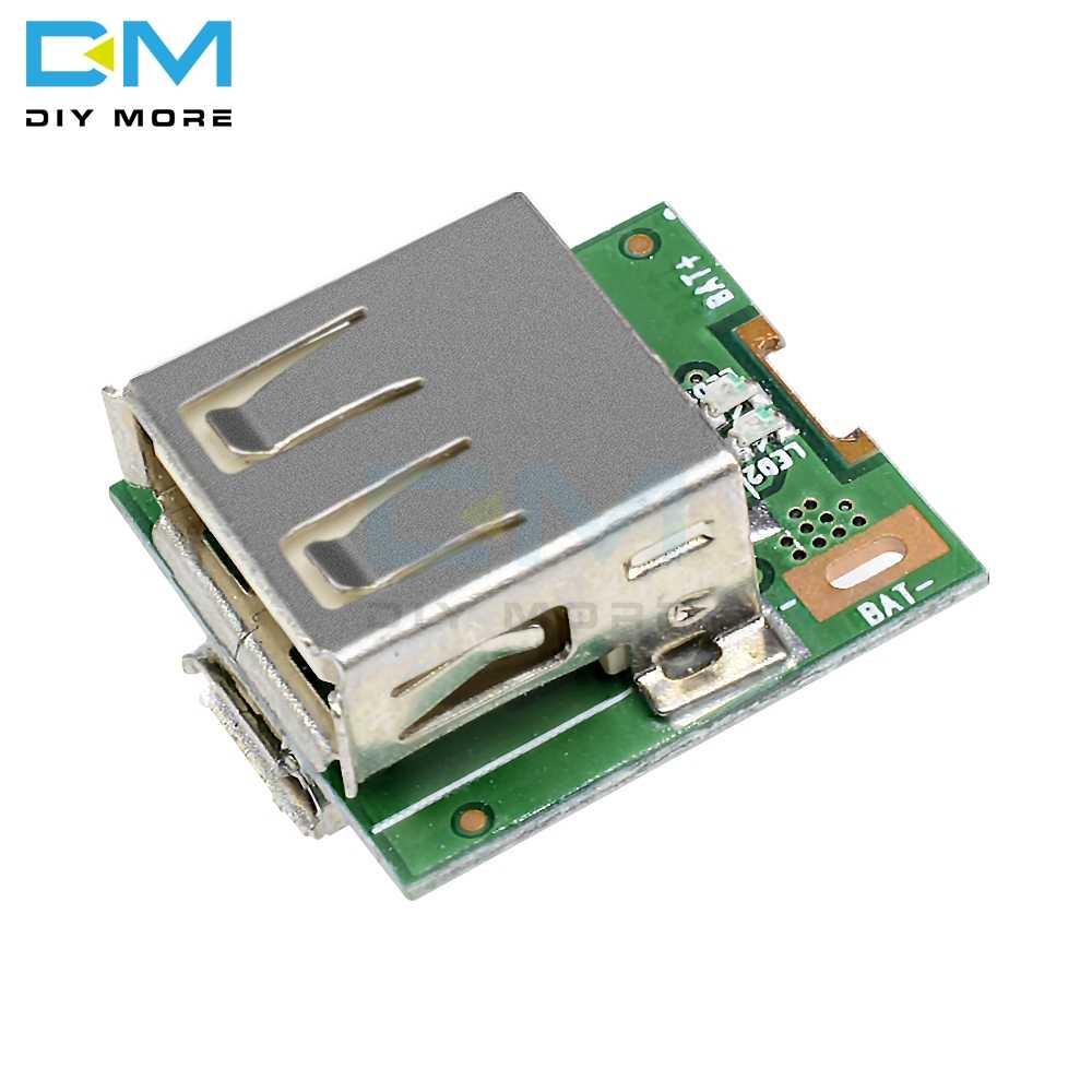 5V do zasilania modułu zasilania MICRO USB ładowania baterii litowej płyta ochronna konwerter doładowania wyświetlacz LED DIY ładowarka