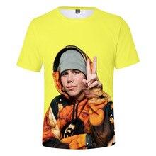 Rapper The Kid Laroi New Hip Hop Tekashi69 rainbow 3D T-Shirt Men/Women Short Sleeve T Shirt Clothes