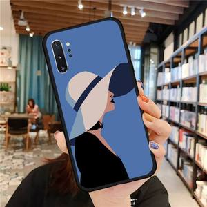 Image 4 - Noble fashion style women Phone Case For Samsung A50 A51 A71 A20E A20S S10 S20 S21 S30 Plus ultra 5G M11 funda cover