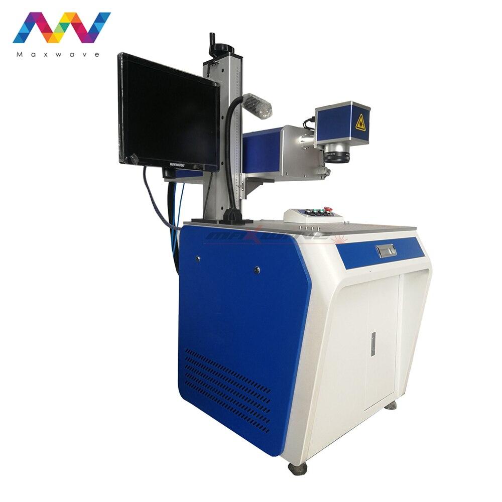 Auto Feeding N95 Face Mask UV laser Marking Machine Laser Printing Coding and Marking Machine Price(China)