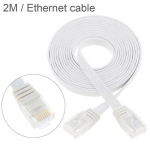 DiGiYes 2 м RJ45 CAT6 8P8C Ethernet сеть LAN кабель Плоский UTP патч маршрутизатор компьютерный кабель для компьютера маршрутизатор