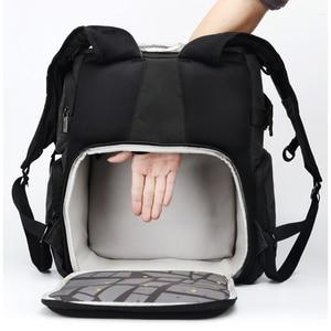 Image 5 - National Geographic Ng W5072 Lederen Camera Bag Rugzakken Grote Capaciteit Laptop Draagtas Voor Digitale Video Camera Reistas
