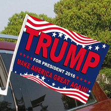 American custom car flag election flag 30cm * 45cm Customizable pattern