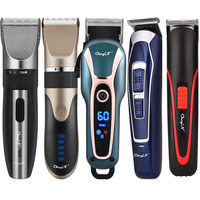 USB Haar Trimmer Barber Rasieren Maschine Haarschnitt Männer Clipper Wiederaufladbare Bart Trimmer Haar Schneiden Haar Cut Styer Werkzeug