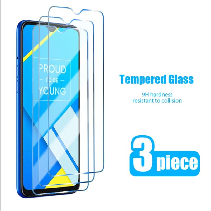 3 шт.! С уровнем твердости 9H Экран протекторы для Realme 7 Pro 6 7i 6S 5 закаленное Стекло для Realme X2 Pro X7 X50 5G жесткую пленку на XT X U1