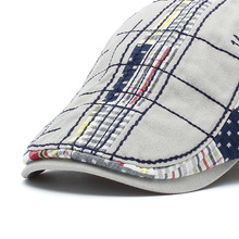 TOHUIYAN 2019 Vintage Cotton Beret Cap Mens Ivy Hat Duckbill Visor Cabbie Hats Summer Flat Caps Newsboy Caps Droping Shipping