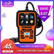 FOXWELL NT301 OBD2 Scanner professionale EOBD OBDII lettore di codice controllo motore ODB2 OBD 2 strumento diagnostico per auto Scanner automobilistico