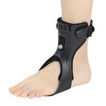 Gota pé cinta ortose afo afos tornozelo apoio com confortável inflável airbag para hemiplegia curso sapatos de caminhada
