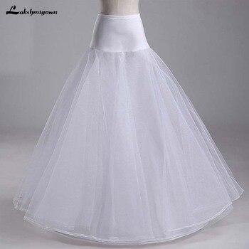 Bridal Slips Wedding Underskirt White Underdress Falda Brautpetticoat Long Crinoline Sottoveste A Line Petticoat Layer - discount item  21% OFF Wedding Accessories
