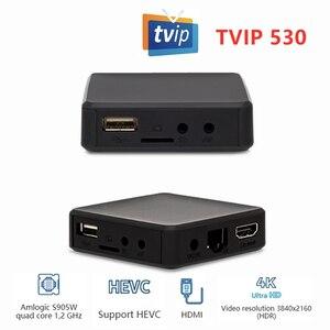 Image 3 - Newest TVIP530 Amlogic S905W TvBox 1GB 8GB  Quad Core TV Box S Box V.530 Youtube 4K Linux OS TVIP 530 PK 410 412 415 Media playe
