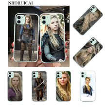 Nbdruicai Tv Vikings Lagertha Zwarte Soft Shell Telefoon Case Capa Voor Iphone 11 Pro Xs Max 8 7 6 6S Plus X 5S Se Xr Cover(China)