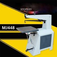 MJ448 Desktop electric Curving Saw machine Industrial Grade Woodworking Wire Saw Wood Cutting Saw Machine 380V/370W 220V/400W